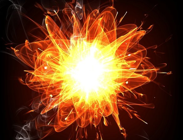 Quarksplosion Credit Shutterstock