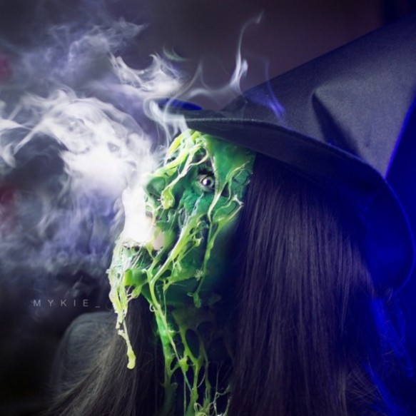 Wicked witch melting