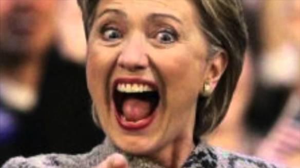 Cackling Clinton