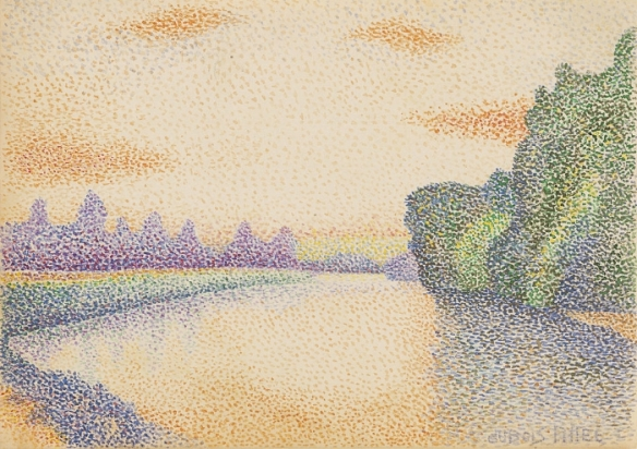 Pointillism as a Metaphor